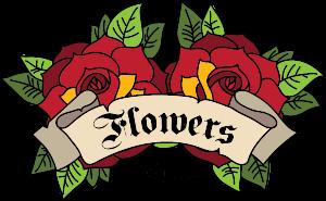 Flowers Weed Club Logo